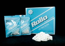 ROLLO BLUE ULTRA SLIM 6mm x 15mm 140 tips_bag
