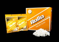 ROLLO ORANGE MICRO SLIM 5mm x 15mm 140 tips_bag