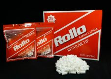 ROLLO RED REGULAR 8mm x 15mm 100 tips_bag