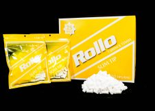 ROLLO YELLOW SLIM 7mm x 15mm 120 tips_bag