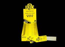 RYO SINGLE WIDTH 36 X 70 HEMP UNBLEACHED